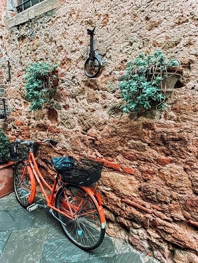 bici a Pienza
