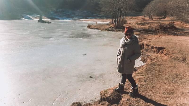 dicembre lago Calamone