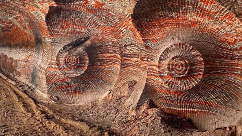 Miniera di potassa Uralkali alla mostra Anthropocene al Mast di Bologna