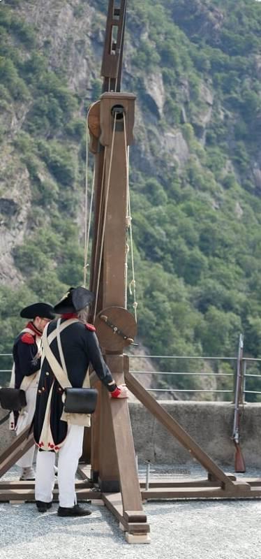 telegrafo Chappe al Forte di Bard