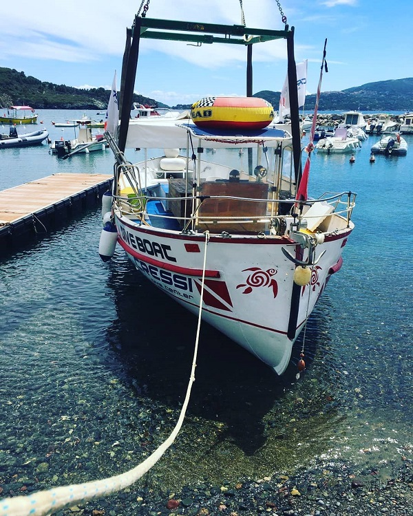 barca per le vostre gite