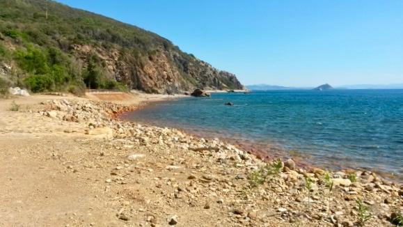 cose da fare all'isola d'Elba, spiaggia la Vigneria