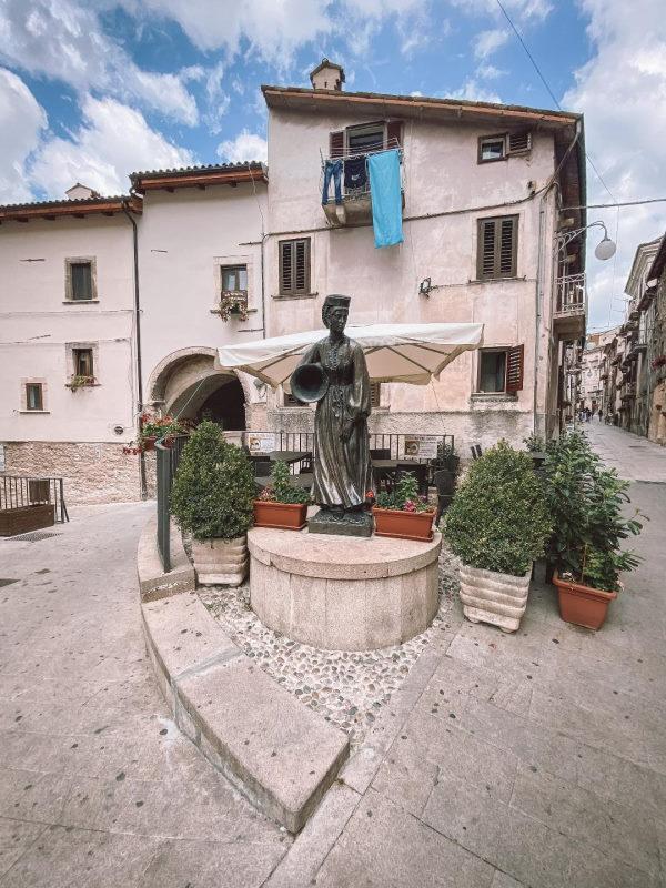 ingresso al centro storico di Scanno