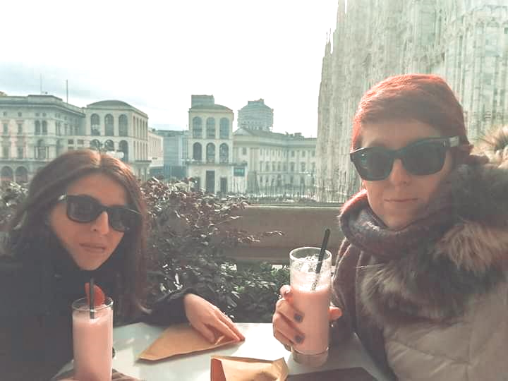 io e Alessia a Milano