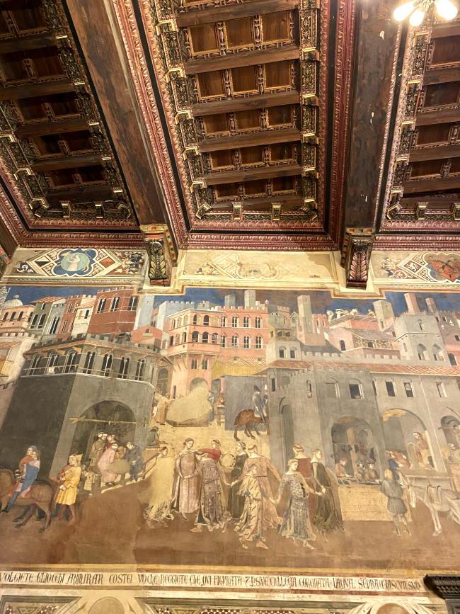 Cosa vedere a Siena, l'Allegoria del Buon Governo