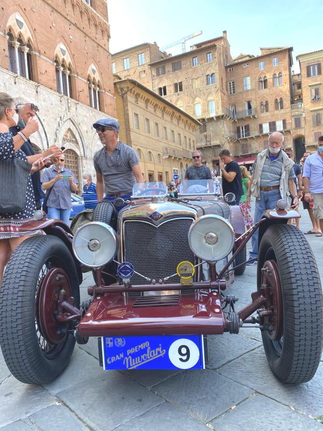 Gran Premio Nuvolari in Piazza del Campo