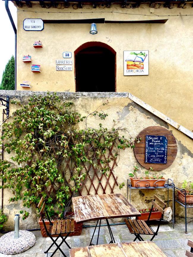 Librorcia a Bagno Vignoni, Val d'Orcia cosa vedere