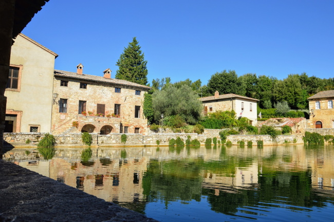 il borgo di Bagno Vignoni