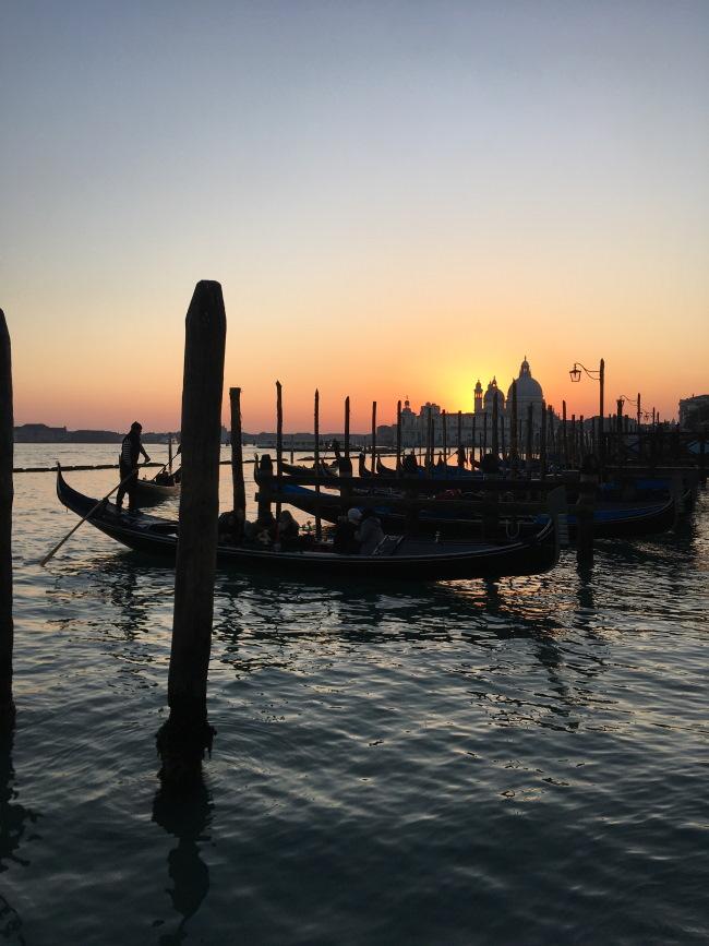Vista dalla Riva degli Schiavoni, Venezia