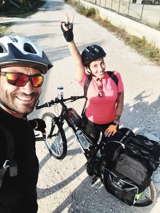Jessica ed Emanuele in viaggio