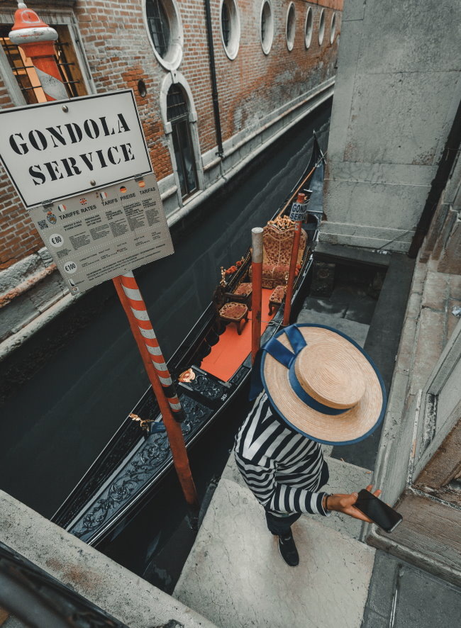 Gondola in attesa