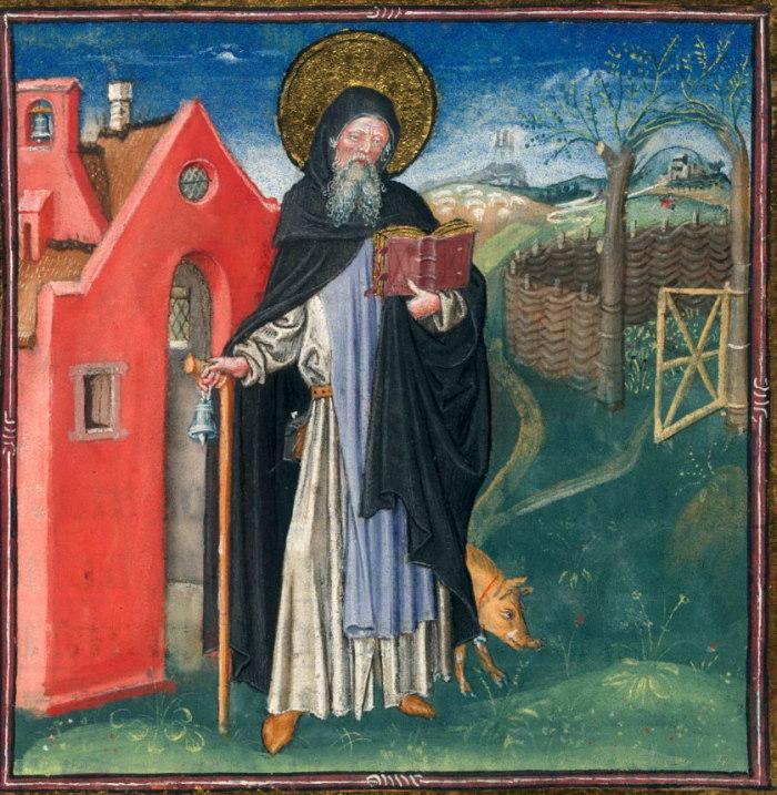 La Fòcara di Novoli: Sant' Antonio Abate