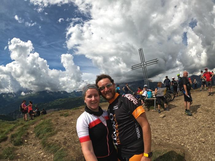 Dolomiti in camper: ciclisti a Pralongià