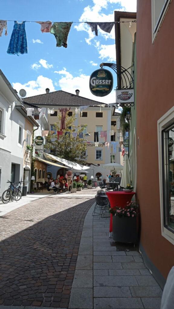 Dolomiti in camper: l'arrivo al paese di Lienz