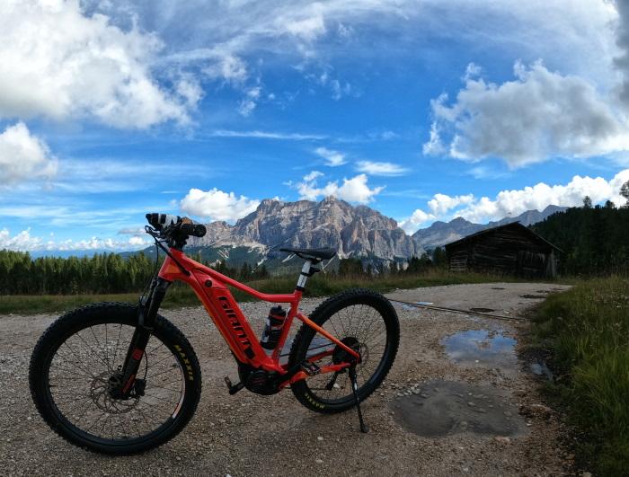 In bici a Pralongià