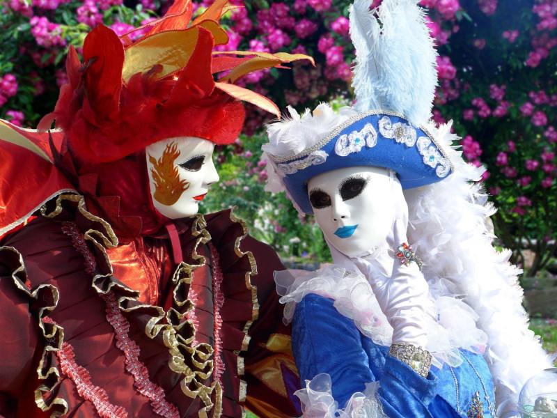 maschere di Carnevale: Colombina