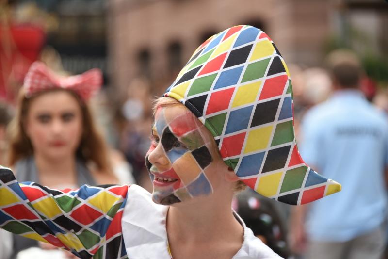 maschera di Arlecchino