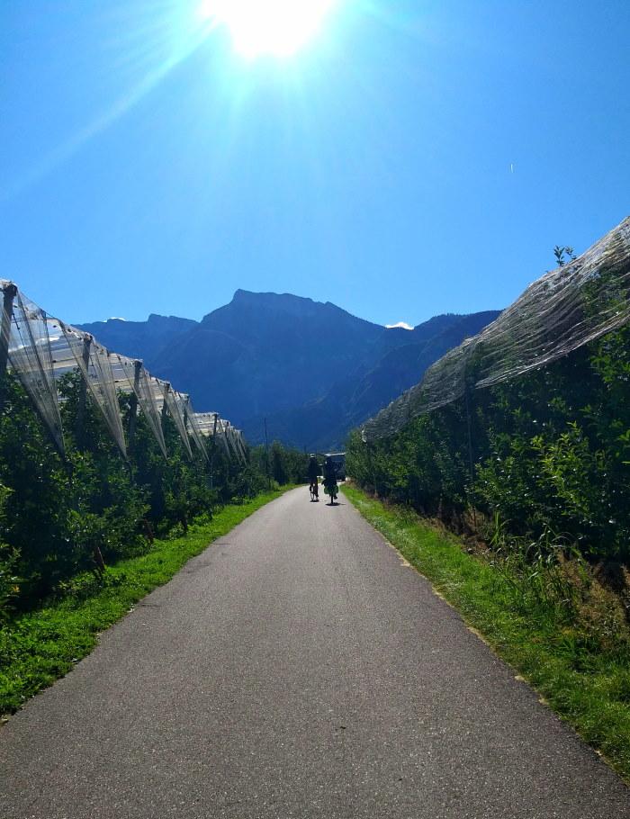 Ciclovia Valsugana, dove andare in bici in italia