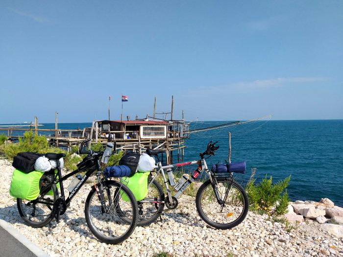 Costa dei trabocchi in bici