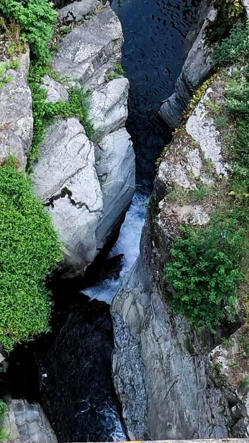 il torrente Ciuffenna