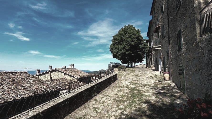cosa vedere nei dintorni di Arezzo: borgo di Trappola