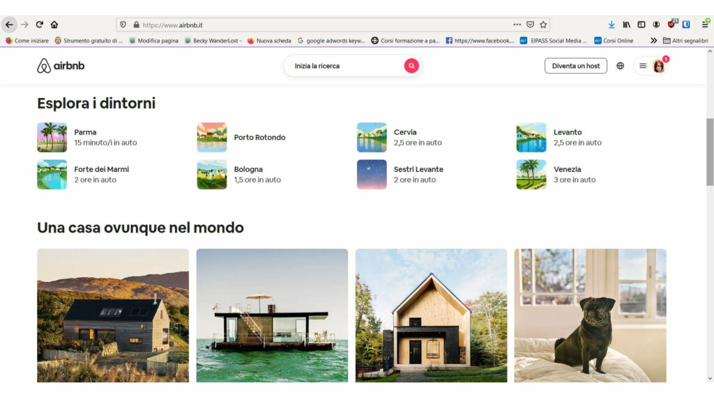 come viaggiare low cost scegliendo di prenotare su airbnb