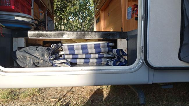 garage del camper