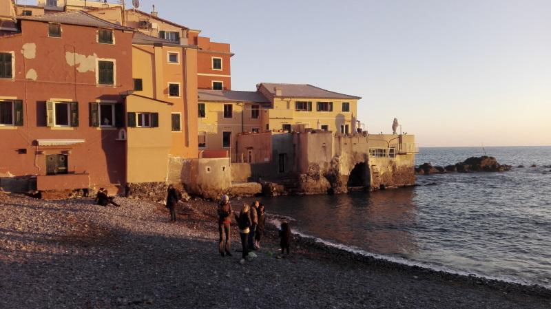 il borgo di Boccadasse, cosa vedere a Genova