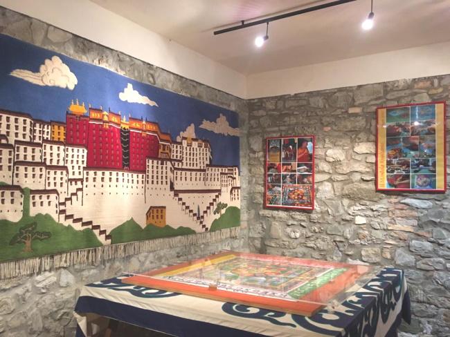 Casa del Tibet nel borgo di Votigno