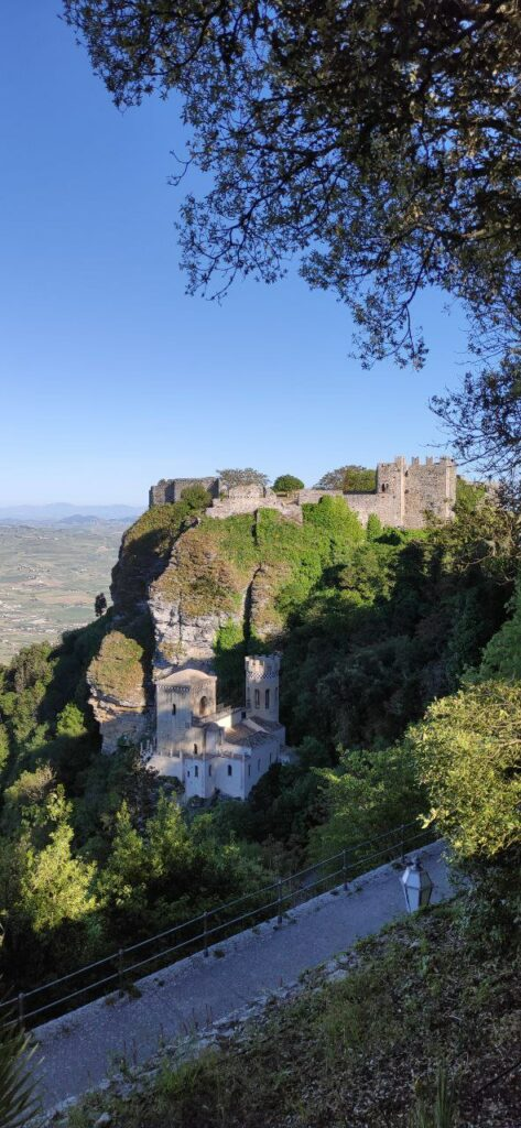 Cosa vedere ad Erice: Castello e Torretta