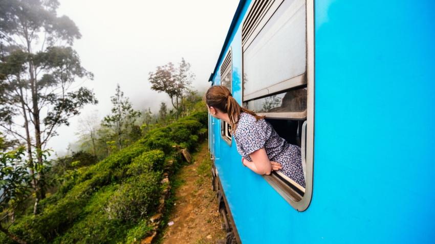 viaggiare sostenibili: meglio il treno per spostarsi